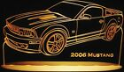 """2006 Mustang Edge Lit Awesome 21"""" Lighted Led Sign Plaque 06 VVD3 USA Made"""