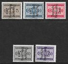 Zara stamps 1943 MI Due 1-3+6-7  signed  MNH  VF
