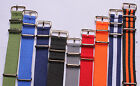 golden buckle 18-24mm Nylon Watch band watch strap watch 12color available 1pc