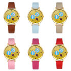 Cool Facial Expression Pattern Dial No Markers Quartz Analog Wrist Watch Dreamed