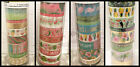 Tropical Theme Flamingos Pineapple Toucan Washi Tape Tube By Recollections