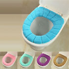 Winter Washable Warmer Bathroom Toilet Seat Lid Cover Seat Mat Thicker 5 Colors