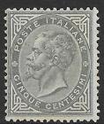 Italy stamps 1863 Sassone L16 greenish grey  signed A+E Diena  UNG  VF
