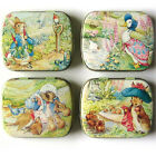 Peter Rabbit & Friends - Rectangular Pill/Trinket/Pin Tin - 4 Designs Available