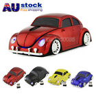 HOT 2.4GHz Wireless Optical VW Beetle car Mouse Mice + USB Dongle for PC Laptop