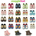 Snuggle Feet Soft Leather Baby Shoes Toddler Girls Boy Boots Non Slip Suede Sole