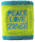 Zumba PLZ 'Peace Love Zumba' Wristbands - 4 Color Options