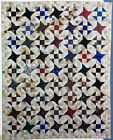 STARS IN MOTION VINTAGE QUILT PATTERN SCRAPPY PATCHWORK 4 SIZE OPTIONS!