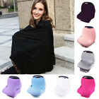 Multi-Use Baby Car Seat Canopy Cart Cover Stretchy Newborn Infant Nursing Cover