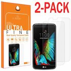 2Pcs New Premium HD Real Tempered Glass Screen Protector For LG K7 Tribute 5 K10