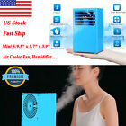 "9.5"" Mini Air Conditioner Cooling Cooler Quiet Fan Humidifier Touch Easy Control"