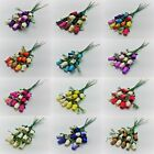 12 Wooden Rose Bouquet - Choose Colour Required - Birthdays - Weddings - Gifts