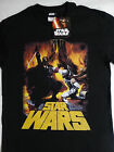 Star Wars Movie Darth Vader Vs Boba Fett Bounty Hunter Epic Battle T-Shirt Nwt $27.74 CAD on eBay
