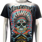mk22 Minute Mirth T-shirt Tattoo Skull LIMITED ED Indian Tribe Ghost Fashion Tee
