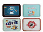 Vintage Styled Serving Trays - Rectangle Tray - Coffee Shop Tea Coffee