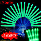 Lumitons LED Foam Sticks Light Up Wands Rally Rave Party Concert Sports Batons