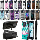 For Samsung Galaxy S6 G920 Hybrid Dual Layer Stand Protective Case Cover + Pen