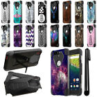 For Huawei Google Nexus 6P Hybrid Dual Layer Stand Protective Case Cover + Pen