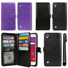 "For LG Tribute HD LS676 X Style 5"" X Skin Card Holder Wallet Cover Case + Pen"