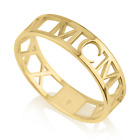 Custom Handmade Roman Numeral Ring ~ANY DATE Sterling Silver OR 24K Gold Plated