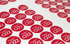 Round Printed Labels, Stickers, Packaging, Charity, Food, Drink, Deli, Cupcakes