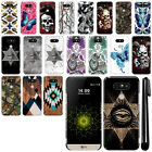 For LG G5 H850 VS987 Butterfly Design HARD Back Case Phone Cover + Pen