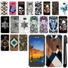 For Samsung Galaxy S7 Active G891 Butterfly Design HARD Back Case Cover + Pen