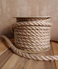 FancySupply Natural Burlap Jute Rope twine Cord - 6 mm x 10 yards - Choose Color