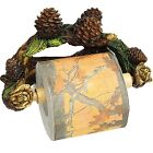 1150 River's Edge Pinecone Wall Mount Toilet Paper Holder