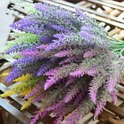 Door Hanging Artificial Lavender Flower Wreath Wall Garland Home Wedding Decor T