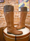 Naturalizer Josette Multi Brown Leather Riding Boots NEW