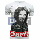 Game of Thrones Obey Jon Snow GOT Poster Inspired Men's Standard Fitted T-shirt