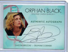 Orphan Black  - Autograph Plate And Wardrobe Card Selection NM Cryptozoic