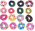 Hair Scrunchie Licensed Print Fabric Scrunchies by Sherry $6.49 USD