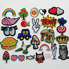 Upick 1pc Sew On Iron On Patch Craft Doll Kid Appliques 25 Styles Patches