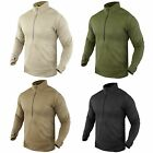 Condor 603 Thermal Fleece BASE II Zip Pullover Operator Tactical Jacket Shirt