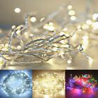 4M 40 LEDs String Fairy Lights Battery Operated Xmas Party Room Decor Waterproof