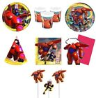 BIG HERO 6 Birthday PARTY RANGE (Tableware, Balloons & Decorations)