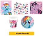MY LITTLE PONY Birthday Party PROCOS RAINBOW PONY Tableware Balloons Decorations