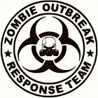 ZOMBIE Outbreak Response Team  Vinyl / Decal  ~ U Pick Size & Color (23 Differ)