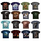 ADULT SIZE MEN'S T-SHIRT THE MOUNTAIN 100% COTTON T-SHIRT (VARIOUS STYLE & SIZE)