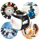 Wifi 4K HD Ultra 360 Panoramic Sport Camera Action Driving VR Cam+ Battery+ 32GB