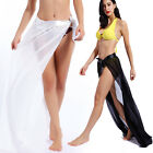 Ladies Beach Swimwear Bikini Cover Up Pareo Sheer Wrap Kaftan Sarong Maxi Skirt