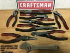 NEW CRAFTSMAN TRUGRIP SLIP JOINT DIAGONAL LONG NOSE ARC JOINT PLIERS CHOICE