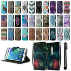 For Motorola Moto X Style XT1575 ID Card Wallet Cover Pouch Case Kickstand + Pen