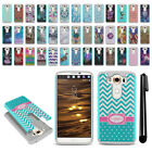 For LG V10 H900 VS990 H901 H968 H961N Hybrid Bumper Shockproof Case Cover + Pen