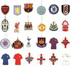 OFFICIAL FOOTBALL CLUB - AIR FRESHENERS (Car Accessories) Crest/Kit All Teams