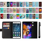 "For Huawei P9 5.2"" EVA-L09 Design Flip Wallet Leather POUCH Case Cover + Pen"