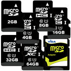 New 2GB-8GB Micro SD SDHC Memory Card with Adapter For Samsung Mobile Phone UK