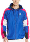 Puma New York Windbreaker Mens Running Jacket - Blue